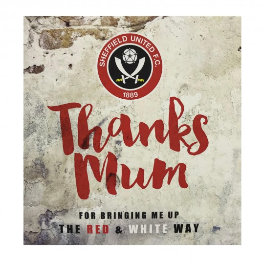 Thanks Mum Card