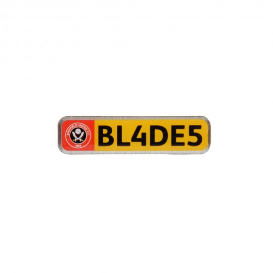 Number Plate Badge