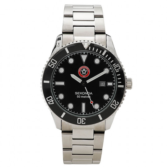 Mens Metal Strap Watch