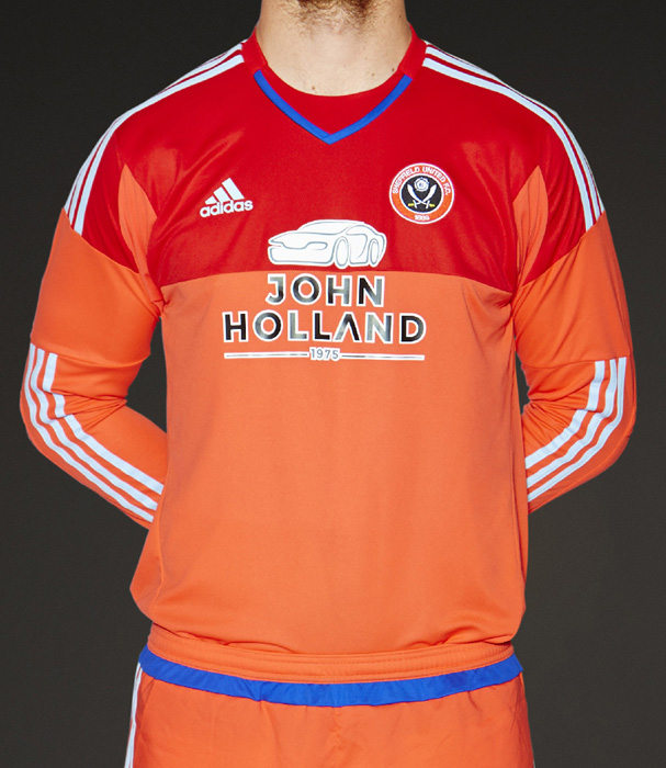Junior GK Away Shirt 15/16 season