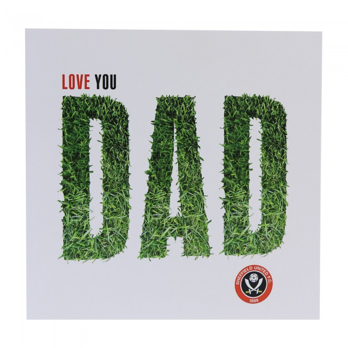 Dad Grass Card