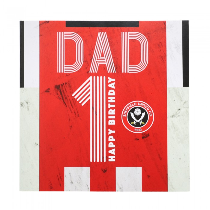 No1 Dad Card