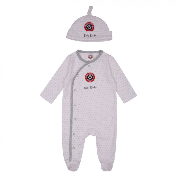 Blades Sleepsuit and Hat